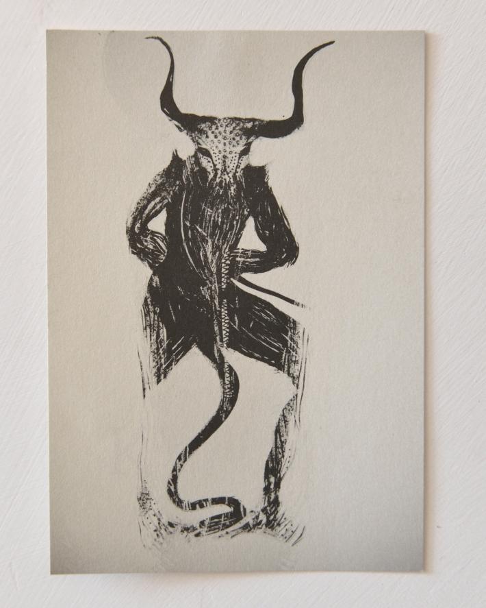 printed cards kawax 10x15 cm illustration for Lili Refrain